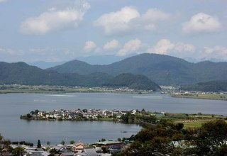 ようこそ總見寺から琵琶湖を望む.JPG
